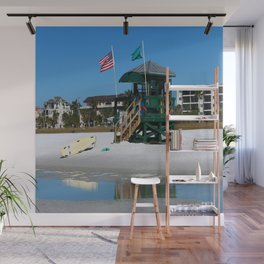 Welcome To Siesta Key Beach Wall Mural