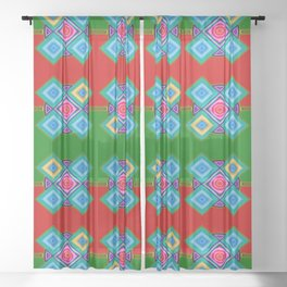 Pattern for decoration ... Sheer Curtain