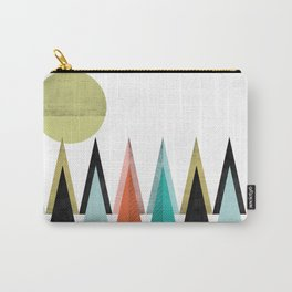 Bright colours Geometric Scandinavian Inspiration Carry-All Pouch