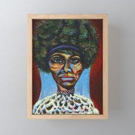 "Eunice ""Nina Simone"" Waymon Framed Mini Art Print"