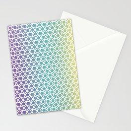 Gravity Tesselation Stationery Cards
