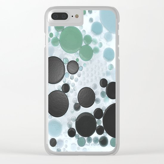 :: Overcast Day at the Beach :: Clear iPhone Case