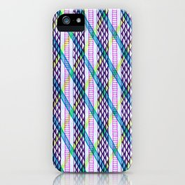 Isometric Harlequin #2 iPhone Case