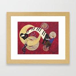 Cosmic Muse Framed Art Print