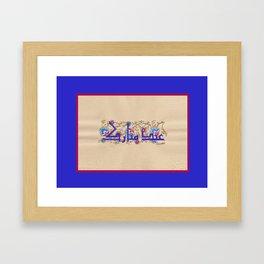 eidMubarak Framed Art Print