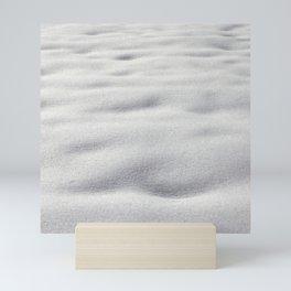 Texture #9 Snow Mini Art Print
