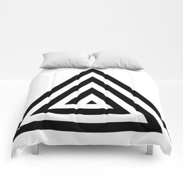 Triangle Spiral Comforters