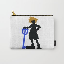 Sora Keyblade Silhouette Carry-All Pouch