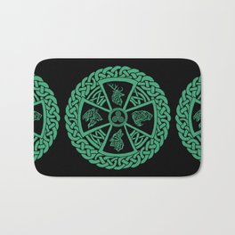 Celtic Nature Bath Mat