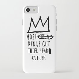 Most Young Kings iPhone Case
