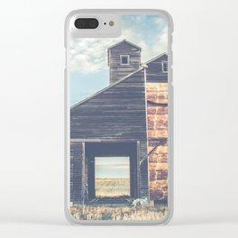 Grain Elevator 7 Clear iPhone Case