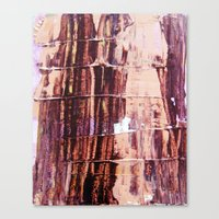 burgundy Canvas Prints featuring Burgundy by Charlotte Chisnall