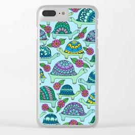Tortoises Clear iPhone Case