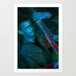 BK Bass 3 Art Print
