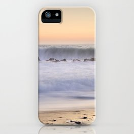 """""""The big wave..."""" iPhone Case"""