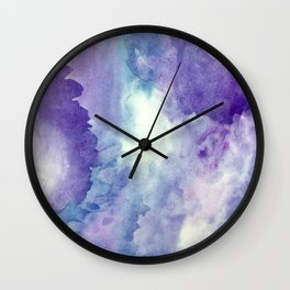 Wisteria Dreams Wall Clock