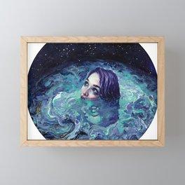 Whirlwind Calm Framed Mini Art Print
