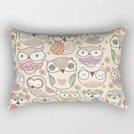 The owling Rectangular Pillow