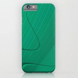 Fractal Green iPhone Case