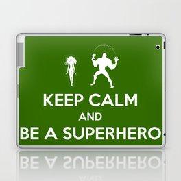 Keep Calm and Be a Superhero Laptop & iPad Skin