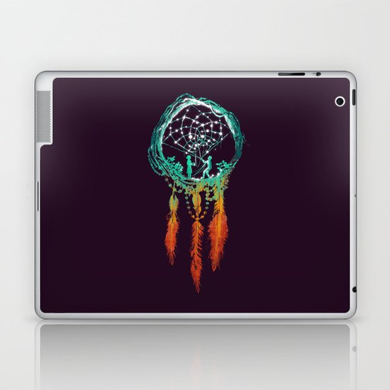 Dream Catcher (the rustic magic) Laptop & iPad Skin