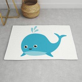 Cute Baby Whale Rug