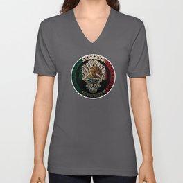 Mexico Design Mexican Flag Design For Mexican Pride Unisex V-Neck