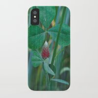 clover iPhone & iPod Cases featuring Clover by Christine baessler
