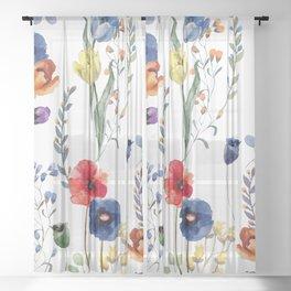 Summer Linen Sheer Curtain