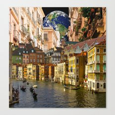 A Glimpse of the World Canvas Print