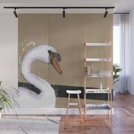 Empty Shell - 6 - The Swan Wall Mural