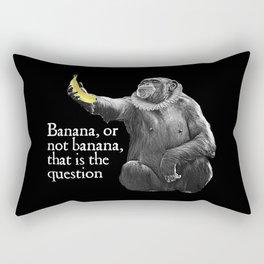 Banana, or not banana Rectangular Pillow