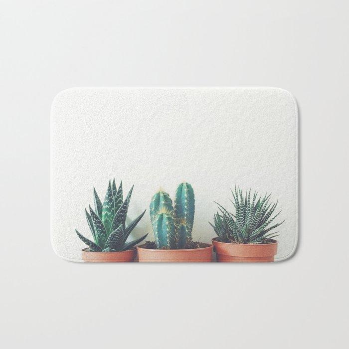 Potted Plants Bath Mat