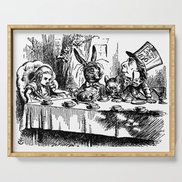 The Mad Hatter's Tea party Serving Tray