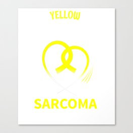 Sarcoma Awareness Daughter Canvas Print