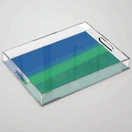 Moody Ocean Acrylic Tray