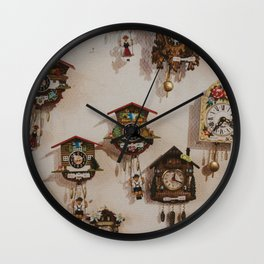 Cuckoo About You Wall Clock