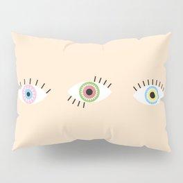 Three Magic Eyes Pillow Sham