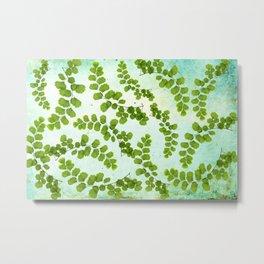 fern leaf pattern Metal Print