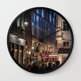 Live in London Wall Clock