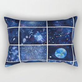 A quick view of the universe Rectangular Pillow