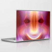 captain Laptop & iPad Skins featuring CAPTAIN by Ricardo Alves