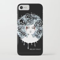 sylvia plath iPhone & iPod Cases featuring Sylvia by Kate Helen Muir