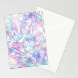 Iridescent Texture Stationery Cards