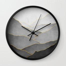 Minimal Landscape 01 Wall Clock