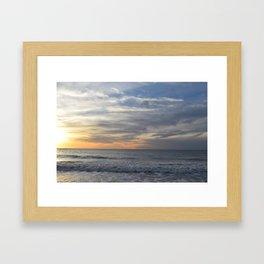 Sea Latte Framed Art Print