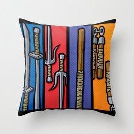 Four Humors Throw Pillow