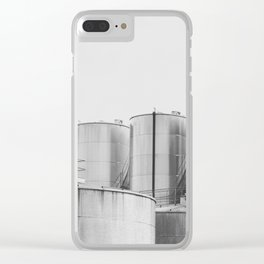 Industrial architecture, urban photography, still life, interior design, interior decoration, city Clear iPhone Case