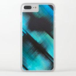 Diagonals (1) Clear iPhone Case