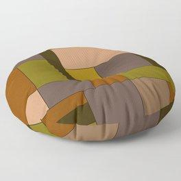 Mondrian #6 Floor Pillow